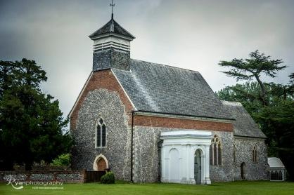 Church at Lullingstone Castle