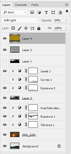 Silhouette Layers