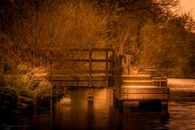 Jetty on the River Medway at East Farleigh