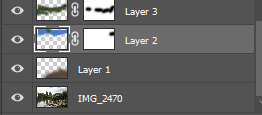 Layers for colour