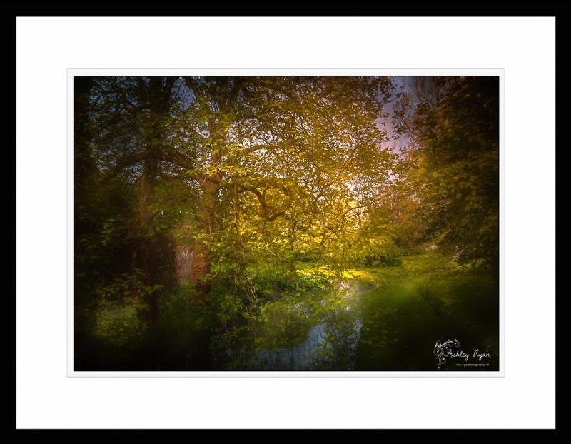 The Moat - Impression - Framed - IMG_6385