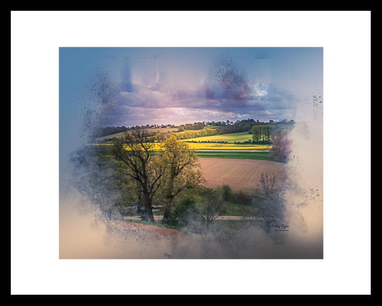 Bodiam - Framed