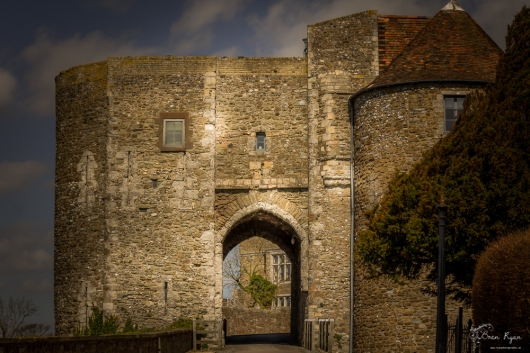 Gate house of Dover Castle
