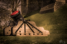 A cannon at Dover Castle