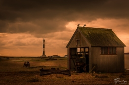 Wooden Shed on the shores of Dungeness