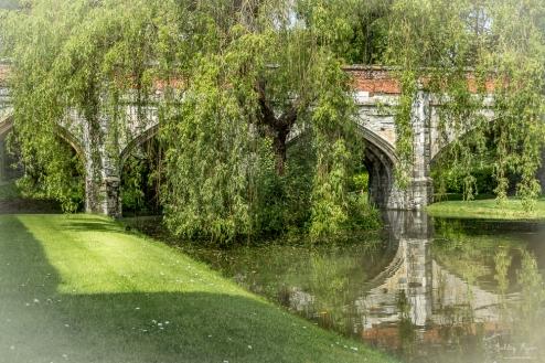 Bridge at Eltham Palace