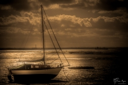 On the river at Leigh-on-Sea in Essex.