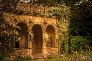 The Loggia at Nymans in West Sussex