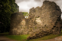 The ruins of Old Inverlochy Castle