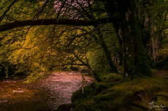 A photograph of the RIver Coe in Glencoe in Scotland.