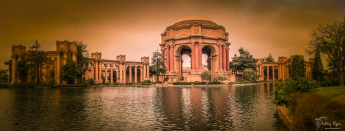 Panoramic of Palace of Fine Arts