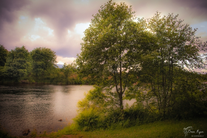 The River Lochy at Old Inverlochy Castle