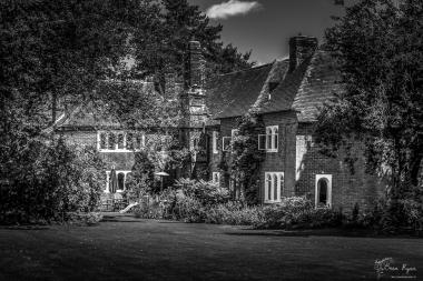 The main house at Beech Court Gardens