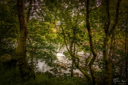 A photograph taken at Loch Leven in Scotland