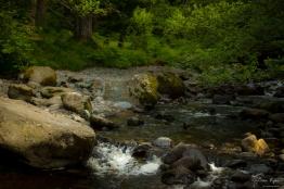 A photograph of Aria Force stream in Cumbria