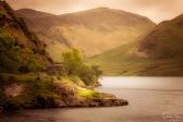 A photograph of Buttermere Lake in Cumbria