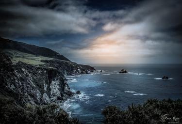 Coastline at Big Sur, California