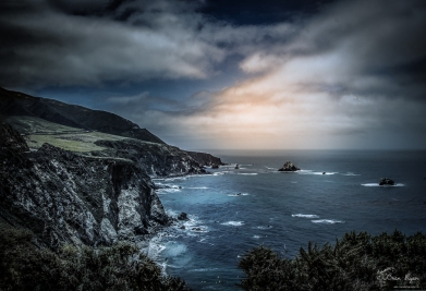 Coastline at Big Sur, California
