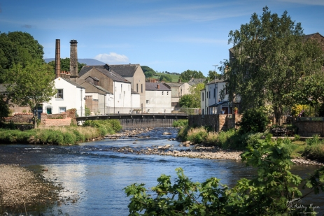 A bridge over the river at Cockermouth in Cumbria.
