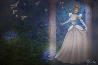 A piece of digital art created in Photoshop and Topaz Impression.