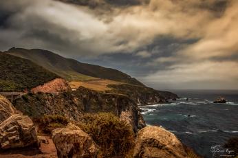 Pacific Coastline on route to Big Sur