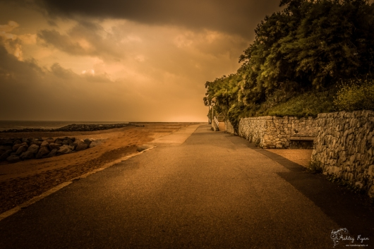 A photograph taken at the Lower Leas Coastal Route, Folkestone, Kent.