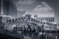 A bridge at the Venetian in Las Vegas