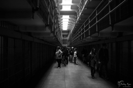A guided tour of the cell blocks at Alcatraz