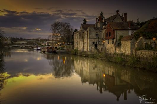 Maidstone at Twilight