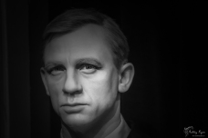 A photograph of Daniel Craig at Madame Tussauds in Las Vegas.