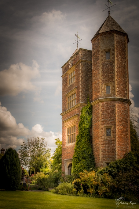 Sissinghurst castle in Kent, which is owned and maintained by the National Trust.