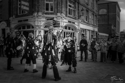 Dancers at the Rochester Sweeps Festival in May 2013.