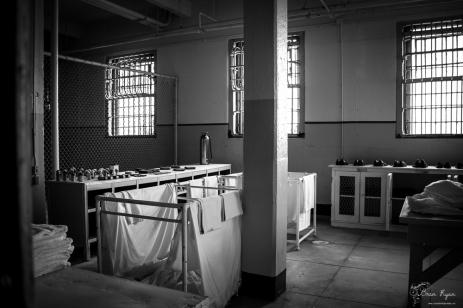 Laundry Room at Alcatraz
