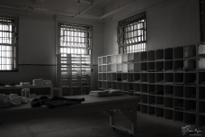 Uniform room of Alcatraz