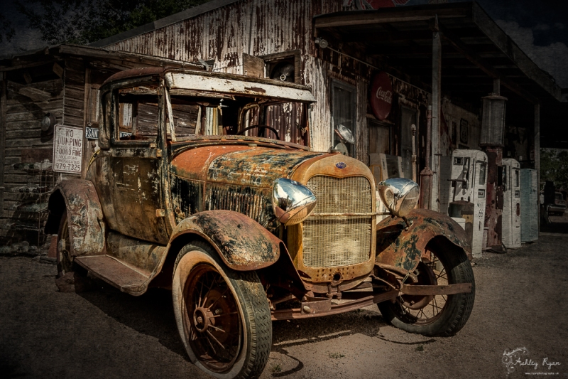 Weathered Car from Hackberry