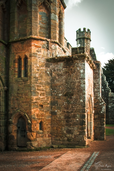 A photograph of Battle Abbey in East Sussex