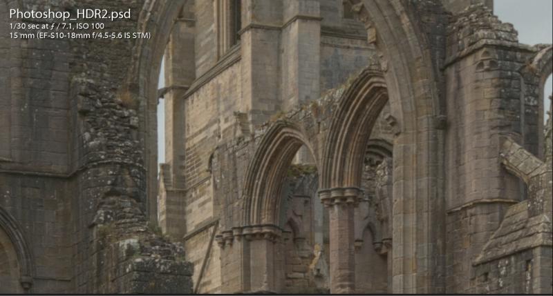 Photoshop HDR Details