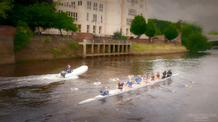 Canoeing on the Ouse