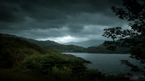 A photograph of one of the lochs on our way to Mallaig in Scotland.
