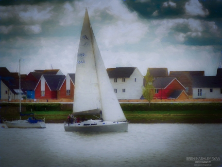 Sailing on the Medway