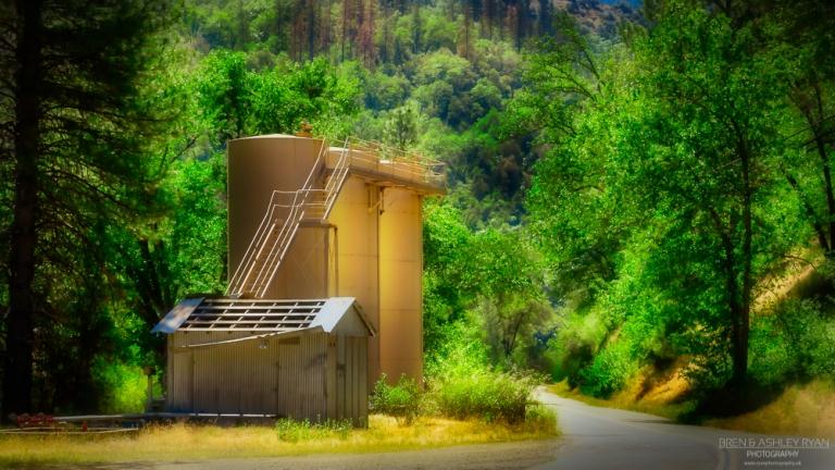 silo's at El Portal
