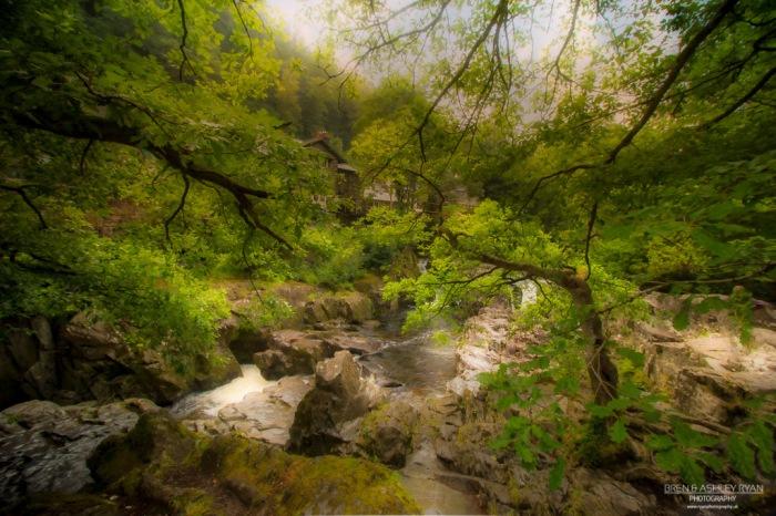 Betsw-y-Coed Waterfalls
