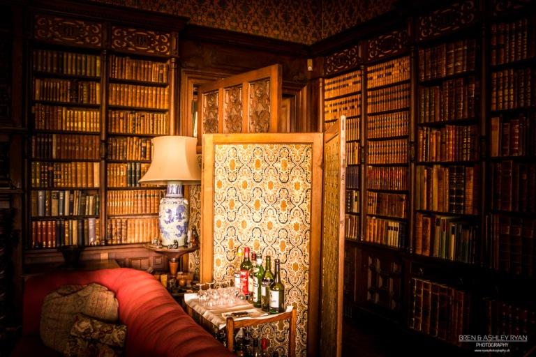 Scotney Castle Reading room