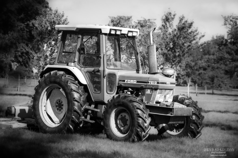 Tractor from Belmont