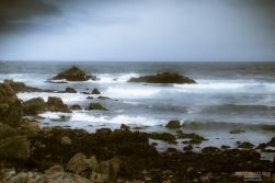 A photograph of the Pacific Coastline taken at 17-mile drive California.