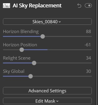 AI Sky Replacement - December BAC
