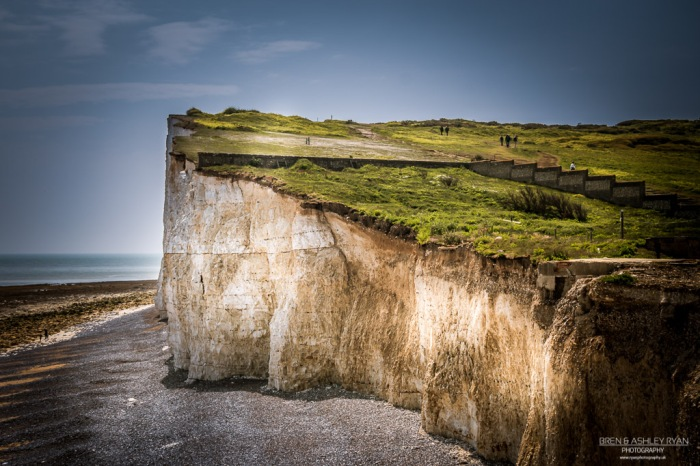 Cliff face at Birling Gap