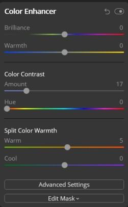 Colour Enhancer - December BAC