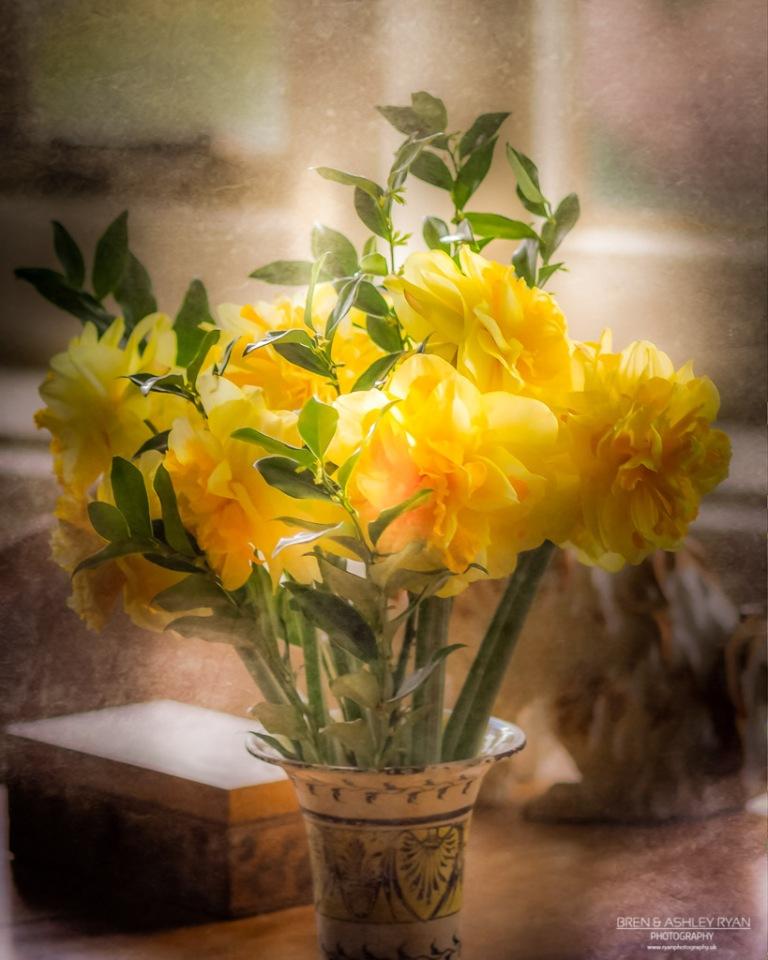 Flowers from Elizaeth Hussey's Bedroom