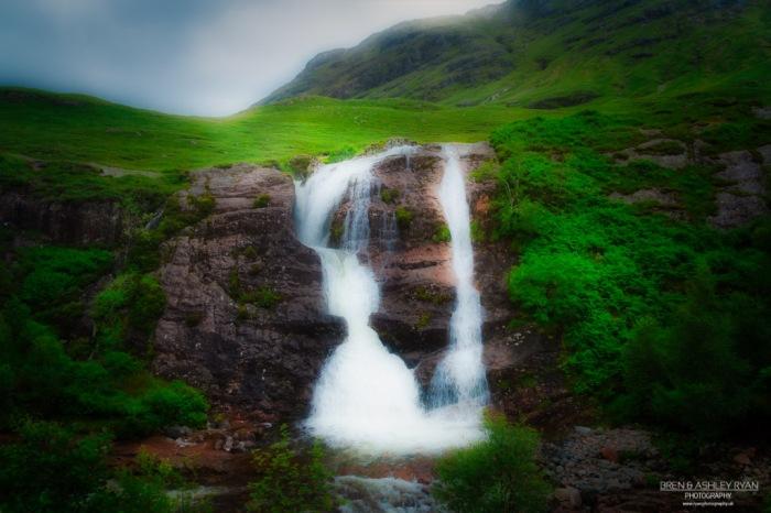 Waterfall at Glencoe